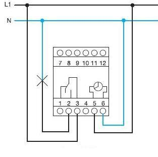 hager eh 110 timer instructions